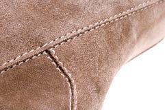 Detail des Schuhes der Frauen Stockbilder