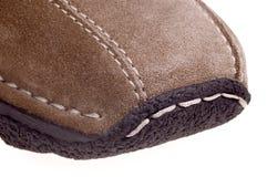 Detail des Schuhes der Frauen Lizenzfreie Stockfotos