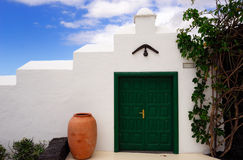 Detail des spanischen Hauses stockbilder