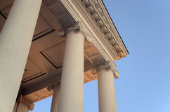 Detail des Staat Virginia-Kapitals stockfoto