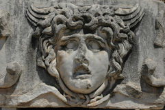 Detail des Tempels von Apollo bei Didyma, die Türkei Stockbild