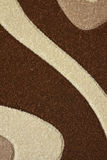 Detail des Teppichs Stockfoto