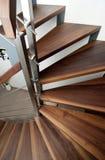 Detail des Treppenhauses stockfotografie