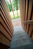 Detail des Treppenhauses lizenzfreies stockfoto