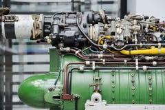 Detail des Turbomotors Stockfotos