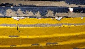 Detail des umgedrehten Bootes lizenzfreie stockfotografie