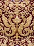 Detail des Umhangs, Jungfrau von Regla, Karwoche in Sevilla Lizenzfreies Stockfoto