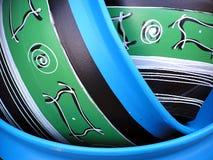Detail des Vase Stockbild