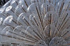 Detail des Wasserbrunnens stockbild