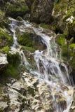 Detail des Wasserfalls Stockfotos