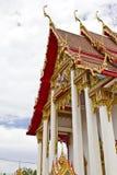 Detail des Wat Chalong Tempels Lizenzfreies Stockfoto