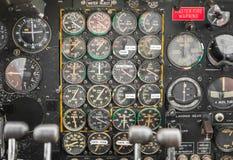 Detail des Weltkrieg-Ära-Militär-Transportes Stockfotografie
