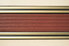 Detail des Wohnwagens Stockbilder