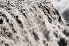 Detail of Dettifoss waterfall