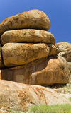 Detail of Devils Marbles Stock Image