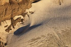 Detail of the Diablerets glacier Royalty Free Stock Photos