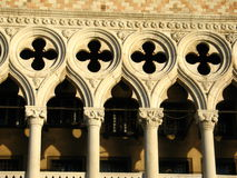 Detail of Doge palace Stock Photos