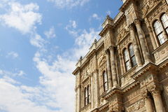 Detail from dolmabahce palace Stock Images