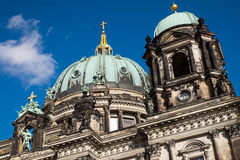 Detail of the dom in Berlin Royalty Free Stock Image