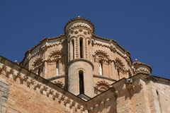 Detail of the dome of the Collegiate of Toro, Zamora Royalty Free Stock Images