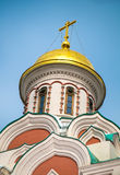 Kazan Cathedral dome detail Royalty Free Stock Images