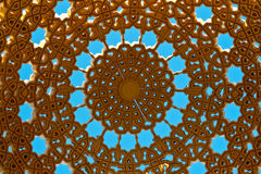 Detail of dome on muttrah corniche Royalty Free Stock Photography