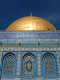 DETAIL FROM THE DOME OF THE ROCK JERUSALEM, ISRAEL Stock Images