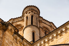 Detail of the dome  in the romanesque Collegiate Church of Toro. Closeup view of the dome in the romanesque Collegiate Church of Toro in Zamora, Spain Royalty Free Stock Images