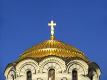 Detail of the dome, Saint Vladimir Cathedral, Chersonesos Tauric Stock Photography