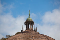 Detail of dome on top of Botanical Building Royalty Free Stock Photo