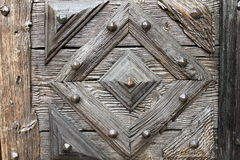 Detail of door. Detail of carved wooden door royalty free stock image