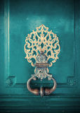Detail of door decoration Stock Photography