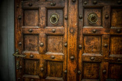 Detail of a Door. A detail of an old door Royalty Free Stock Photo