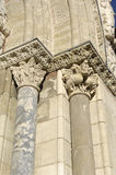 Detail of the door of Saint Sernin, Toulouse,. France Royalty Free Stock Photos
