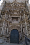 Detail of the door of Saint Sernin, Toulouse,. France Stock Photography