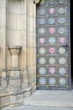 Detail door of St. Peter and Paul Stock Image