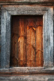 Detail of the door of a typical Ukrainian antique house Royalty Free Stock Photos