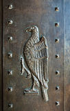 Detail of door in Umaid Bhawan palace hotel in Jodhpur in Rajast Royalty Free Stock Images
