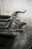 Detail of a doorframe in China Royalty Free Stock Images