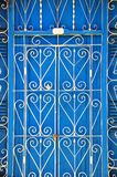 Detail of the doors, colonial Trinidad Royalty Free Stock Image