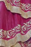 Detail drapery Stock Photo