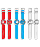 Colorful watch Royalty Free Stock Images