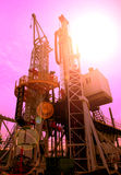 Detail of drilling rig Royalty Free Stock Photography