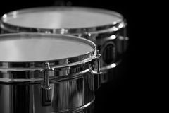 Detail of drums Royalty Free Stock Photo