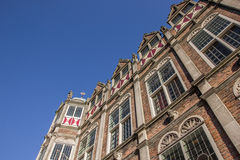Detail of the Duivelshuis in Arnhem Royalty Free Stock Image