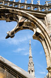 Detail of the Duomo di Milano in Milan, Italy Stock Photo