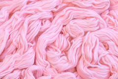 Detail of dyed wool Royalty Free Stock Photos