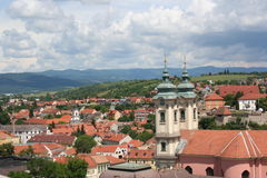 Detail of Eger in a nearer view Stock Photography