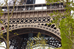 Detail of Eiffel Tower Royalty Free Stock Photography