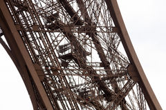 Detail of Eiffel Tower Royalty Free Stock Image